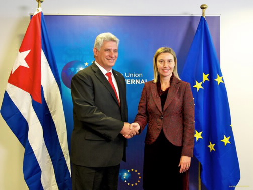 Mogherini Visits Cuba For 2nd Meeting of the EU-Cuba Joint Council - Foro Europa-Cuba | Jean Monnet Network